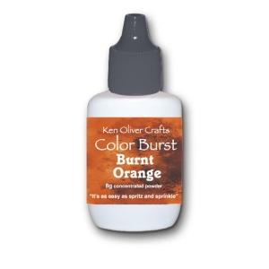 Ken Oliver - Color Burst - Burnt Orange
