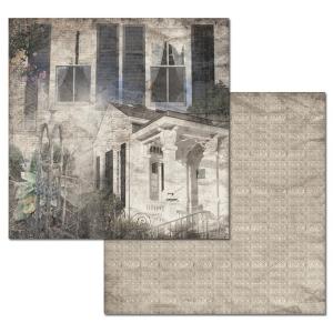 Ken Oliver - Hometown Cottage - Garden Cottage 12x12 Paper