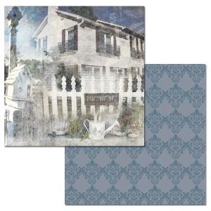 Ken Oliver - Hometown Cottage - Picket Fence 12x12 Paper