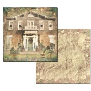 Ken Oliver - Hometown Christmas - Yuletide Manor 12x12 Paper
