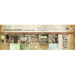 Ken Oliver - Hometown Christmas - 12x12 Collection Pack