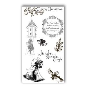 Ken Oliver - Hometown Christmas - Clear Stamps - Set 2