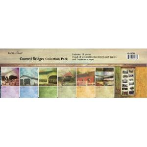 Ken Oliver - Covered Bridges - 12x12 Collection Pack