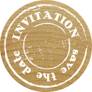 RoyalPosthumus - Woodies - Invitation  Save The Date