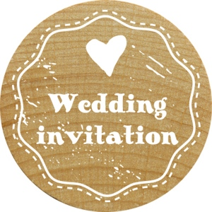 RoyalPosthumus - Woodies - Wedding Invitation