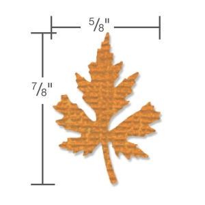 Sizzix - Paper Punch - Maple Leaf - Medium by Tim Holtz