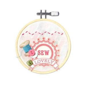 Sizzix - Bigz Die - Embroidery Hoop by Eileen Hull