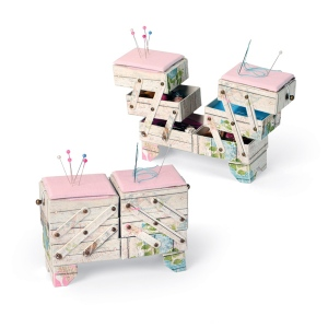 Sizzix - ScoreBoards XL Die - Box - Cantilever Sewing Box by Eileen Hull