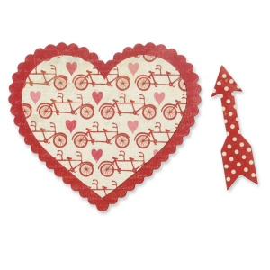 Sizzix - Bigz Die - Layered Valentine by Echo Park Paper Co.
