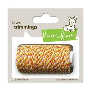 Lawn Fawn - Lawn Trimmings - Candy Corn Cord