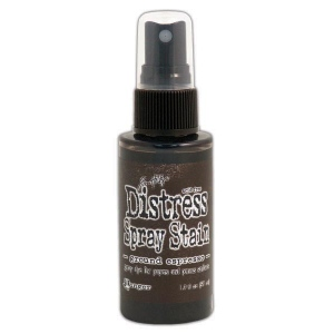 Tim Holtz - Distress - August Color Of The Month - Ground Espresso - Distress Spray Stain