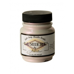 Lumiere® Pigmented Acrylic Paint Hi-lite Violet: Purple, Jar, 2.25 oz, Acrylic, (model J575), price per each