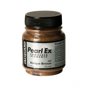 Pearl Ex Powdered Pigment Antique Bronze; Color: Metallic; Format: Jar; Size: .75 oz; (model J660), price per each