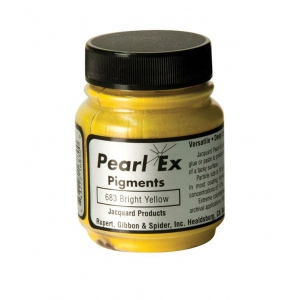 Pearl Ex Powdered Pigment Bright Yellow; Color: Yellow; Format: Jar; Size: .5 oz; (model J683), price per each