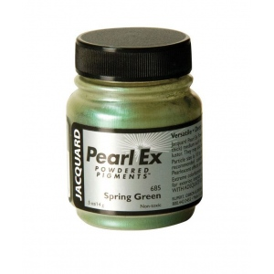 Pearl Ex Powdered Pigment Spring Green; Color: Green; Format: Jar; Size: .5 oz; (model J685), price per each