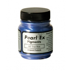 Pearl Ex Powdered Pigment True Blue: Blue, Jar, .5 oz, (model J687), price per each