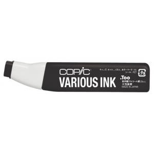 Copic® Various Neutral Gray No. 10 Ink; Color: Black/Gray; Ink Type: Alcohol-Based; Refill: Yes; (model N10-V), price per each