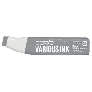 Copic® Various Neutral Gray No. 6 Ink; Color: Black/Gray; Ink Type: Alcohol-Based; Refill: Yes; (model N6-V), price per each