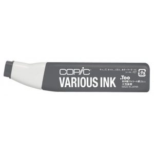 Copic® Various Neutral Gray No. 8 Ink; Color: Black/Gray; Ink Type: Alcohol-Based; Refill: Yes; (model N8-V), price per each
