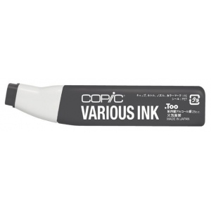 Copic® Various Neutral Gray No. 9 Ink; Color: Black/Gray; Ink Type: Alcohol-Based; Refill: Yes; (model N9-V), price per each