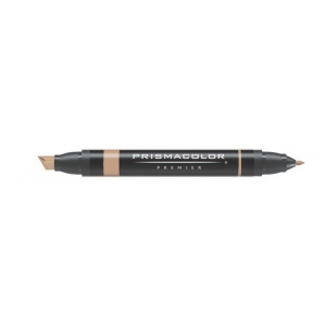 Prismacolor® Premier Art Marker Light Tan; Color: Brown; Double-Ended: Yes; Ink Type: Alcohol-Based, Dye-Based; Tip Type: Extra Broad Nib, Fine Nib; (model PM95), price per each