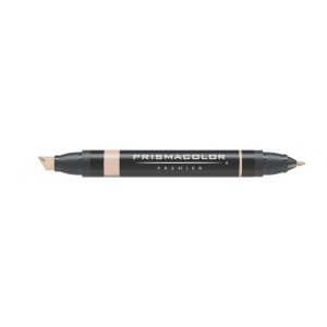 Prismacolor® Premier Art Marker Light Walnut: Brown, Double-Ended, Alcohol-Based, Dye-Based, Extra Broad Nib, Fine Nib, (model PM89), price per each