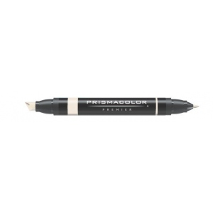 Prismacolor® Premier Art Marker Brick White; Color: White/Ivory; Double-Ended: Yes; Ink Type: Alcohol-Based, Dye-Based; Tip Type: Extra Broad Nib, Fine Nib; (model PM79), price per each