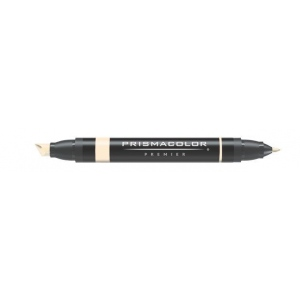 Prismacolor® Premier Art Marker Eggshell; Color: Brown, White/Ivory; Double-Ended: Yes; Ink Type: Alcohol-Based, Dye-Based; Tip Type: Extra Broad Nib, Fine Nib; (model PM72), price per each