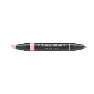 Prismacolor® Premier Art Marker Ballet Pink; Color: Red/Pink; Double-Ended: Yes; Ink Type: Alcohol-Based, Dye-Based; Tip Type: Extra Broad Nib, Fine Nib; (model PM208), price per each