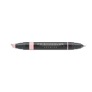 Prismacolor® Premier Art Marker Ballet Pink: Red/Pink, Double-Ended, Alcohol-Based, Dye-Based, Extra Broad Nib, Fine Nib, (model PM208), price per each