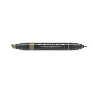 Prismacolor® Premier Art Marker Light Umber; Color: Brown; Double-Ended: Yes; Ink Type: Alcohol-Based, Dye-Based; Tip Type: Extra Broad Nib, Fine Nib; (model PM172), price per each