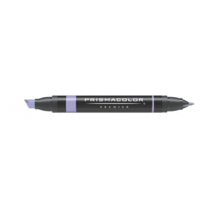 Prismacolor® Premier Art Marker Lilac: Purple, Double-Ended, Alcohol-Based, Dye-Based, Extra Broad Nib, Fine Nib, (model PM171), price per each