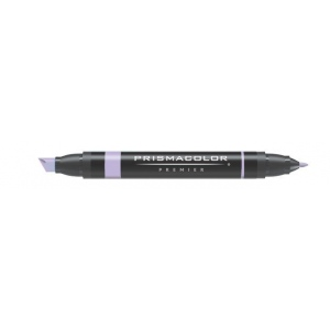 Prismacolor® Premier Art Marker Grayed Lavender; Color: Black/Gray, Purple; Double-Ended: Yes; Ink Type: Alcohol-Based, Dye-Based; Tip Type: Extra Broad Nib, Fine Nib; (model PM147), price per each
