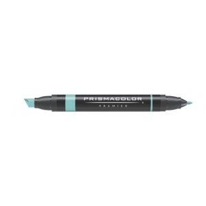 Prismacolor® Premier Art Marker Jade Green; Color: Green; Double-Ended: Yes; Ink Type: Alcohol-Based, Dye-Based; Tip Type: Extra Broad Nib, Fine Nib; (model PM141), price per each