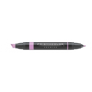 Prismacolor® Premier Art Marker Clay Rose; Color: Red/Pink; Double-Ended: Yes; Ink Type: Alcohol-Based, Dye-Based; Tip Type: Extra Broad Nib, Fine Nib; (model PM137), price per each