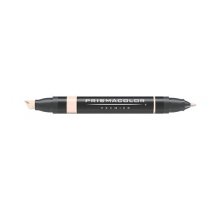 Prismacolor® Premier Art Marker Deco Peach: Red/Pink, Double-Ended, Alcohol-Based, Dye-Based, Extra Broad Nib, Fine Nib, (model PM11), price per each