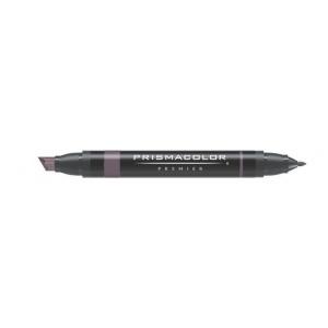 Prismacolor® Premier Art Marker Warm Gray 80%: Black/Gray, Double-Ended, Alcohol-Based, Dye-Based, Extra Broad Nib, Fine Nib, (model PM106), price per each