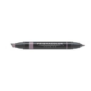 Prismacolor® Premier Art Marker Warm Gray 70%; Color: Black/Gray; Double-Ended: Yes; Ink Type: Alcohol-Based, Dye-Based; Tip Type: Extra Broad Nib, Fine Nib; (model PM105), price per each