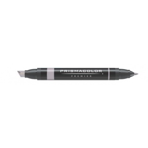 Prismacolor® Premier Art Marker Warm Gray 50%; Color: Black/Gray; Double-Ended: Yes; Ink Type: Alcohol-Based, Dye-Based; Tip Type: Extra Broad Nib, Fine Nib; (model PM103), price per each