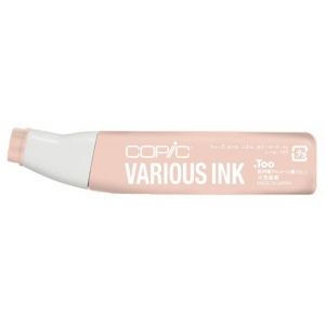 Copic® Various Light Tea Rose Ink: Red/Pink, Alcohol-Based, Refill, (model R12-V), price per each