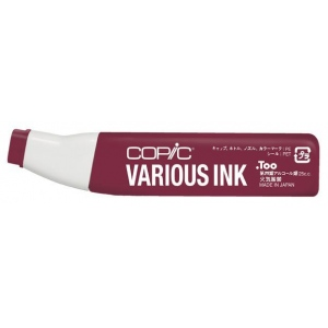 Copic® Various Dark Red Ink; Color: Red/Pink; Ink Type: Alcohol-Based; Refill: Yes; (model R89-V), price per each
