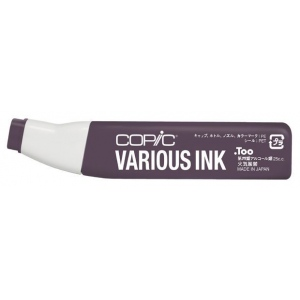 Copic® Various Argyle Purple Ink; Color: Purple; Ink Type: Alcohol-Based; Refill: Yes; (model RV99-V), price per each