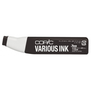 Copic® Various Black Ink; Color: Black/Gray; Ink Type: Alcohol-Based; Refill: Yes; (model 100-V), price per each