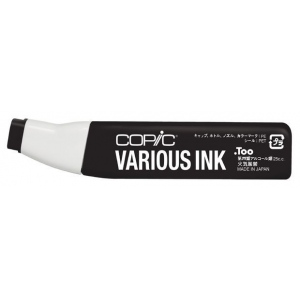Copic® Various Special Black Ink; Color: Black/Gray; Ink Type: Alcohol-Based; Refill: Yes; (model 110-V), price per each