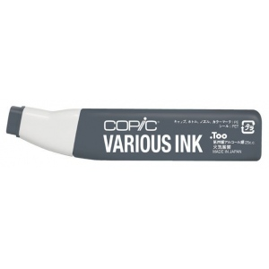 Copic® Various Cool Gray No. 8 Ink: Black/Gray, Alcohol-Based, Refill, (model C8-V), price per each