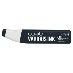 Copic® Various Cool Gray No. 10 Ink; Color: Black/Gray; Ink Type: Alcohol-Based; Refill: Yes; (model C10-V), price per each
