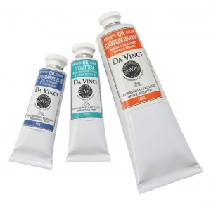 Da Vinci Artists' Oil Color Paint 37ml Ultramarine Blue: Blue, Tube, 40.6 ml, Oil, (model DAV184), price per tube