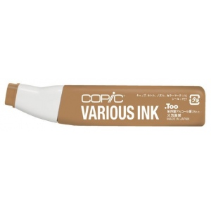 Copic® Various Light Walnut Ink; Color: Brown; Ink Type: Alcohol-Based; Refill: Yes; (model E57-V), price per each