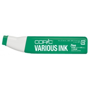Copic® Various Ocean Green Ink; Color: Green; Ink Type: Alcohol-Based; Refill: Yes; (model G28-V), price per each