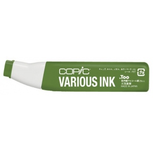 Copic® Various Olive Ink; Color: Green; Ink Type: Alcohol-Based; Refill: Yes; (model G99-V), price per each